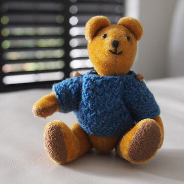 teddy bear with sweater - special ed tutoring in markham page image