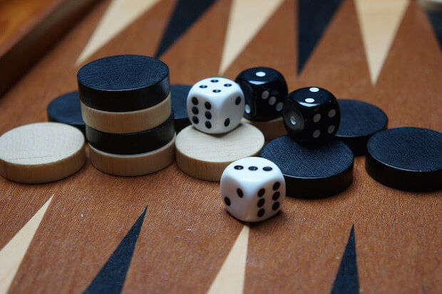 Backgammon math lesson ideas to teach kids
