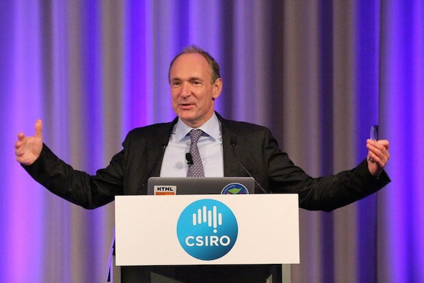 Tim Berners-Lee inventor of the world wide web