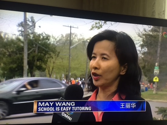 Ontario tutoring franchise featured on Omni News speaking about Ontario teacher strike